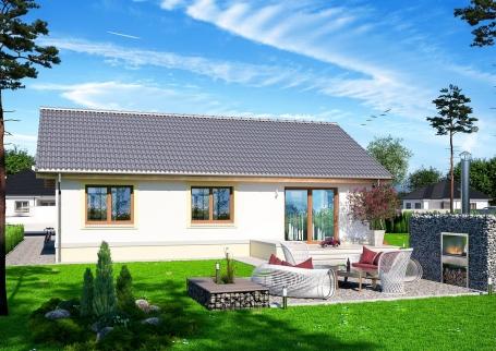 90 m² Çelik Konstrüksiyon Ev