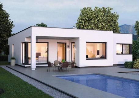 125 m² Çelik Konstrüksiyon Ev